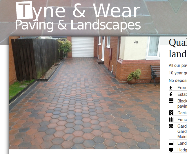 Tyne-Wear-Paving-Landscapes.com